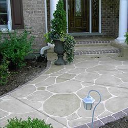Concrete Overlay Floors Custom Interior Flooring