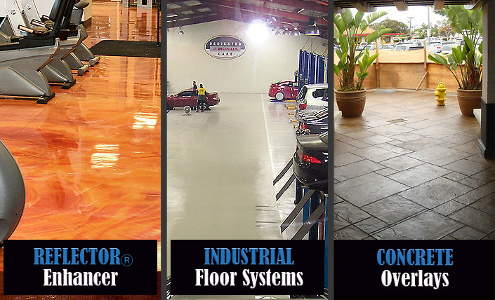 Concrete Overlays and Seamless Floors